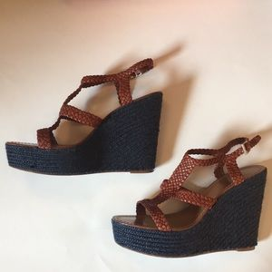 Kate Spade Lila Wedge Sandals, Size 10